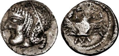 Óbolo con cangrejo. Massalia (460-410 a.C.) 1165105.m