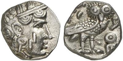 Dracma imitativo a las lechuzas atenienses 923254.m