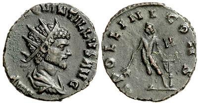Radiado imitativo de Antoniniano de Claudio II. APOLLINI CONS 827852.m