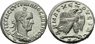 Tetradracma de Trajano Decio  1055691.m