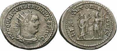 Antoniniano de Valeriano I. RESTITVT ORIENTIS. Antioquía 3710268.m