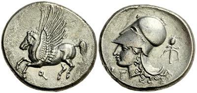 Corinto. Estátera (347-306 a.C.) 712671.m