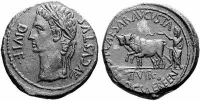 As Caesar Augusta (Augusto) 135790.m