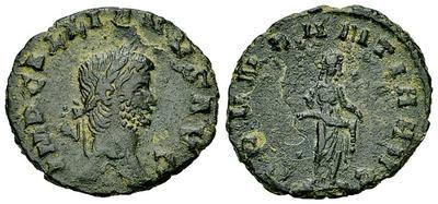 Glosario de monedas romanas. DENARIO DE VELLÓN. 3173688.m