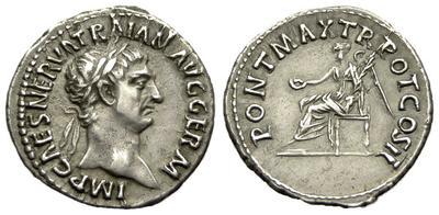 Denario de Trajano 3582632.m