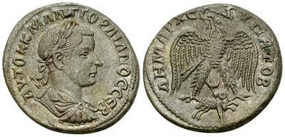 Tetradracma de Gordiano III. Águila a izq. Antioquía 3703186.m
