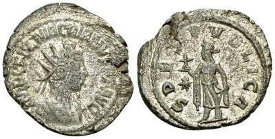 Antoniniano de Macriano. SPES PVBLICA. Antioquía 7916540.m