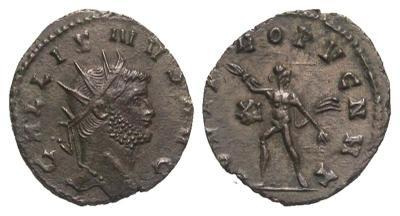 Antoniniano de Galieno. IOVI PROPVGNAT. Roma  2523647.m