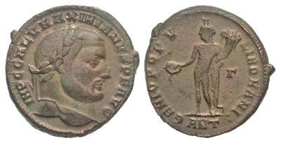 Nummus de Galerio?. GENIO POPVLI ROMANI.  2580543.m