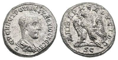 Tetradracma de Herennio Etrusco. Antioquía 2761654.m