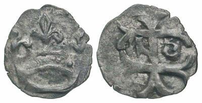 1/4 de denar de vellón de Segismundo de Luxemburgo. Hungría 2948511.m