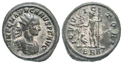 Aureliano de Caro. IOVI VICTORI, ceca Roma. 3198871.m