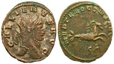 Antoniniano de Galieno. IOVI CONS AVG. Roma 3618698.m