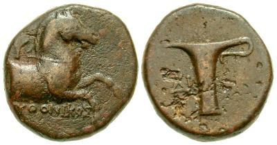 AE17 de Kyme. Aeolis 4298616.m