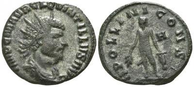 Antoniniano de Quintilo. APOLLINI CONS. Roma  3220897.m