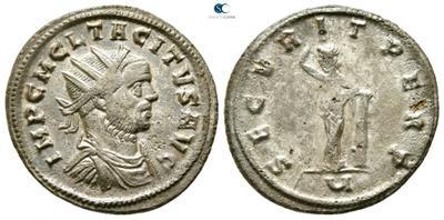 Aureliano de Tácito. SECVRIT PERP. Seguridad apoyada en columna. Siscia 5488161.m