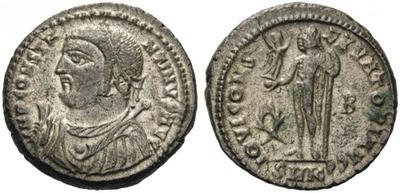 AE3 de Constantino I.  IOVI CONSERVATORI AVGG.  Cycico 2739838.m