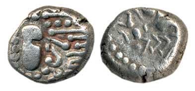 Moneda de plata, arte tosco 3542404.m