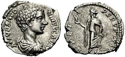 Denario de Caracalla. SPEI PERPETVAE. Esperanza a izq. Roma 1305928.m