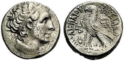 Tetradracma de Cleopatra VII. ΠTOΛEMAIOY ΒΑΣΙΛΕΩΣ. Alejandría 1357727.m