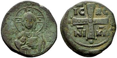 Follis anónimo atribuido a Miguel IV 1535678.m