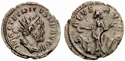 Antoniniano de Tétrico I. SALVS AVGG. Trier 261187.m