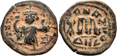 40 nummi de Constante II. Constantinopla 5293610.m