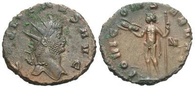 Antoniniano de Galieno. IOVI CONSERVAT. Júpiter a izq. Roma 5283366.m