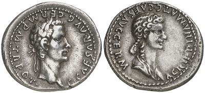 Denario de Germánico y Calígula 1200302.m
