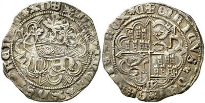 Real de anagrama de Enrique IV. Segovia 1891763.m