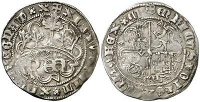 Real de anagrama de Enrique IV. Segovia 2984134.m