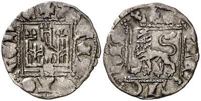 Dinero noven de Alfonso XI. 5123419.m