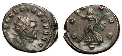 Antoniniano de Claudio II. PAX AVG. Milán 5999409.m
