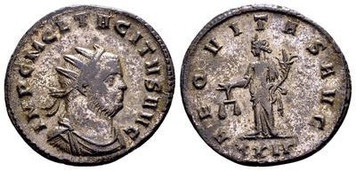 Aureliano de Tácito. AEQVITAS AVG. Igualdad a izq. Roma 6464928.m