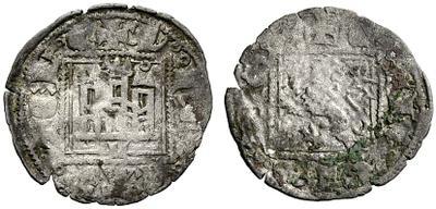 Dinero de Alfonso XI emisión de 1330 811703.m
