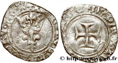 Francia, Doble Tornés de Carlos VI    1194806.m