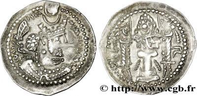 Dracma de Varhran V 1240686.m