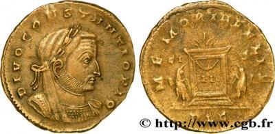 Nummi de consécration - Constantin I  1388341.m