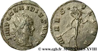 Antoniniano de Claudio II. MARS VLTOR. Roma 138480.m