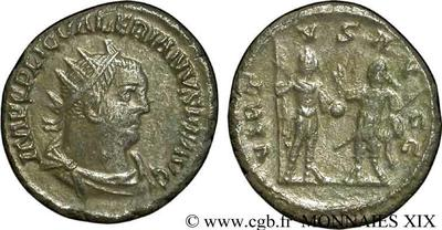 Antoniniano de Valeriano I. VIRTVS AVGG. Antioquía? 161738.m