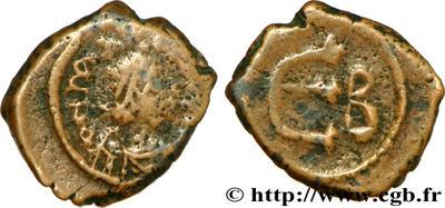 Pentanummi de Justiniano I 39313.m
