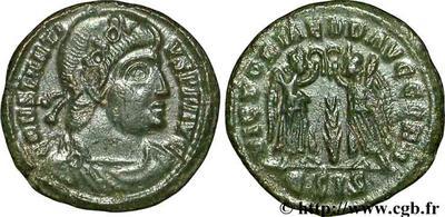 AE4 de Constancio II. VICTORIAE DD AVGG Q NN 45977.m