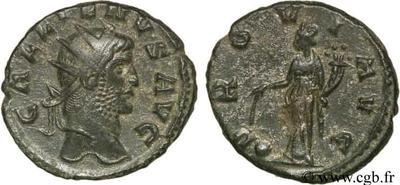 Antoniniano de Galieno. PROVID AVG. Providentia estante a izq.  48264.m