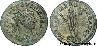 Aureliano de Diocleciano. IOVI CONSER AVVG. Roma 49752.m