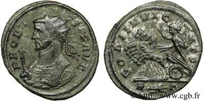 Aureliano (antoniniano) de Probo. SOLI INVICTO. Roma 50152.m