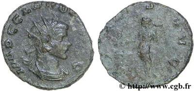 Antoniniano de Claudio II. SALVS AVG. Salud a izq. Roma 51374.m