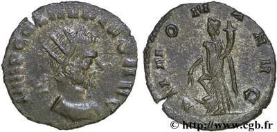 Antoniniano Imitativo de Claudio II. ANNONA AVG  51404.m
