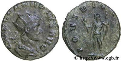 Radiado de cuño hispano de Claudio II. IOVI VICTORI 51431.m