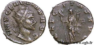 Antoniniano de Claudio II. FELICITAS AVG. Roma 51465.m