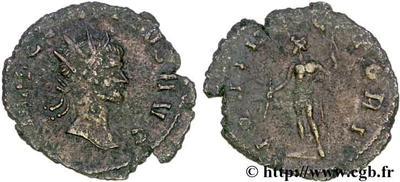 Antoniniano de Claudio II. IOVI VICTORI. Roma 51480.m